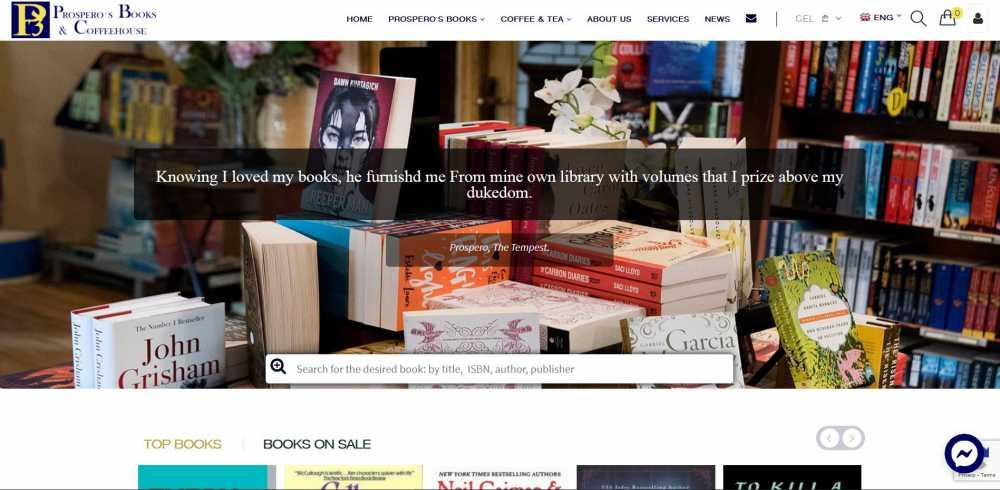 prosperosbookshop.com